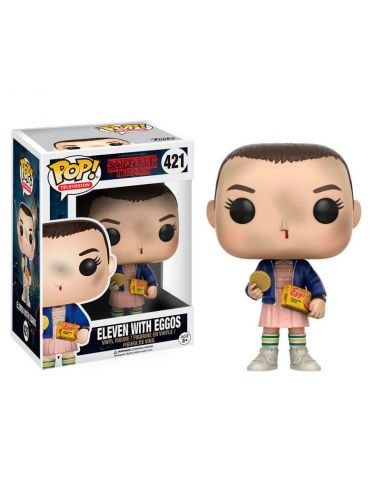 FUNKO POP! Eleven with Eggos 421 - Stranger Things
