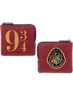 Monedero logos Andén 9 3/4 y Hogwarts - Harry Potter