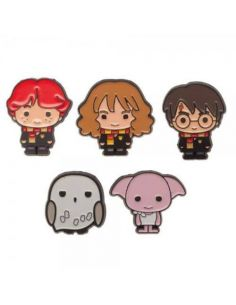 Pack 5 Pins personajes Harry Potter