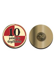 Pin 10 puntos Gryffindor - Harry Potter