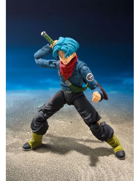 Figura Trunks Future SH Figuarts 14 cm - Dragon Ball
