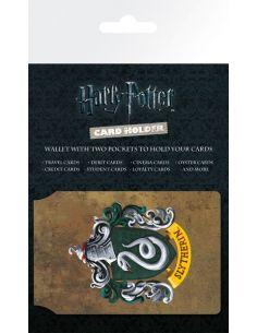 Porta Tarjetas escudo Slytherin - Harry Potter