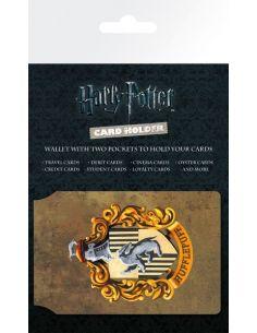 Porta Tarjetas escudo Hufflepuff - Harry Potter