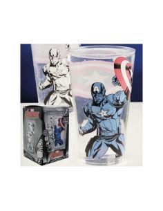 Vaso térmico del Capitán América - Marvel