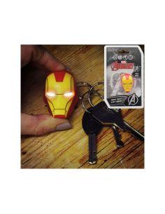 Llavero Iron Man con luz - Marvel