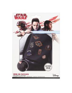 Pack 10 Parches para plancha Star Wars
