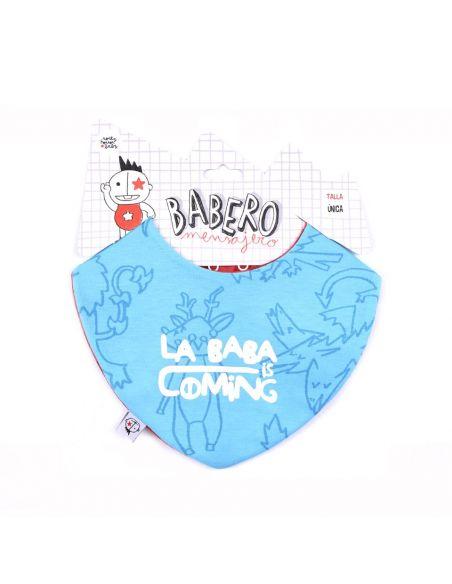 Babero la Baba is Coming reversible - Juego de Tronos