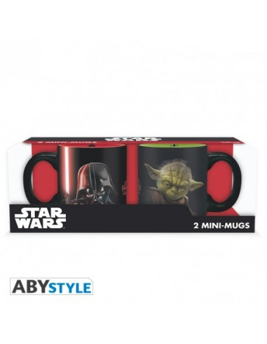 Pack 2 tazas expreso Darth Vader y Yoda - Star Wars