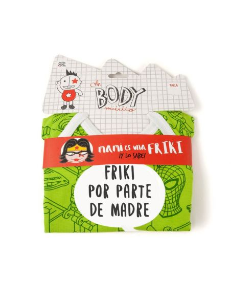 Body Friki por parte de Madre manga Larga