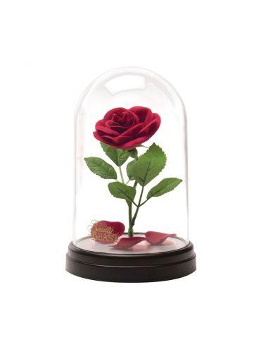 Lámpara Rosa de La Bella y la Bestia - Disney