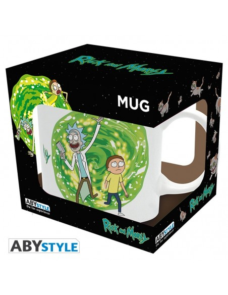 Taza Portal - Rick and Morty