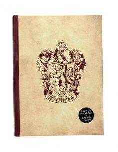Libreta con luz Gryffindor - Harry Potter