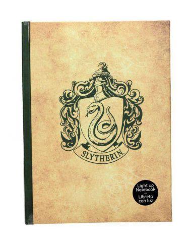 Libreta Con Luz Slytherin Harry Potter