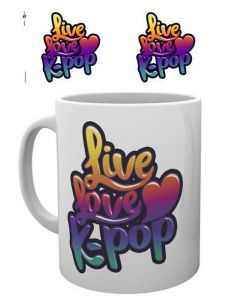 Taza I love K-Pop