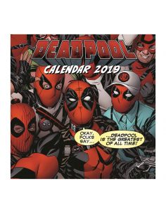 Calendario 2019 Deadpool - Marvel