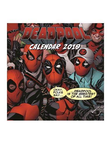 Calendario 2019 Deadpool - Marvel