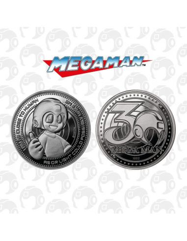 Moneda 30th Megaman - Edición Limitada