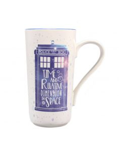 Taza Latte-Macchiato Galaxy - Doctor Who