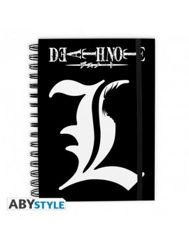 Libreta L y Ryuk - Death Note