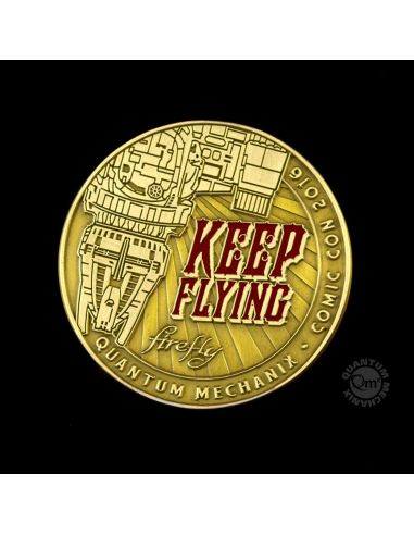 Moneda Keep Flying Challenge Coin SDCC 2016 - Firefly