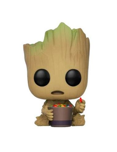 FUNKO POP! Groot y Candy Bowl - Guardianes de la Galaxia