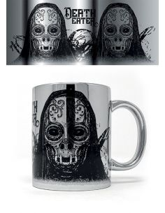 Taza Metallic Death Eater - Harry Potter