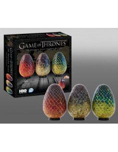 Puzzle 3D Huevos de Dragón (240 piezas) - Juego de Tronos