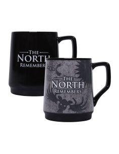 Taza sensitiva al calor North Remember - Juego de Tronos