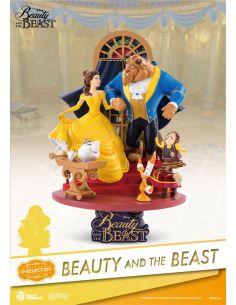 Diorama La Bella y la Bestia 15 cm - Disney