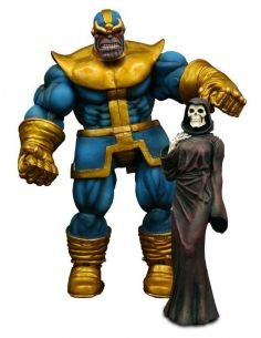 Marvel Select - Figura Thanos y Muerte 20 cm - Marvel