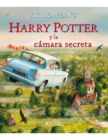 Harry Potter y la Cámara Secreta - Edición Ilustrada - Harry Potter