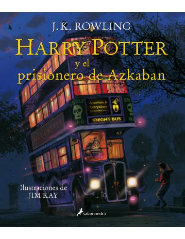 Harry Potter Y El Prisionero De Azkaban Ilustrado Harry Potter