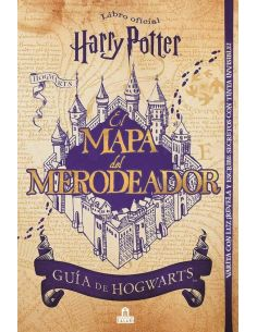 Libro Harry Potter mapa del Merodeador - Harry Potter