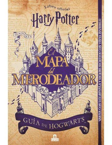 Libro Harry Potter Mapa Del Merodeador Harry Potter