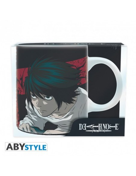 Taza Light y L - Death Note