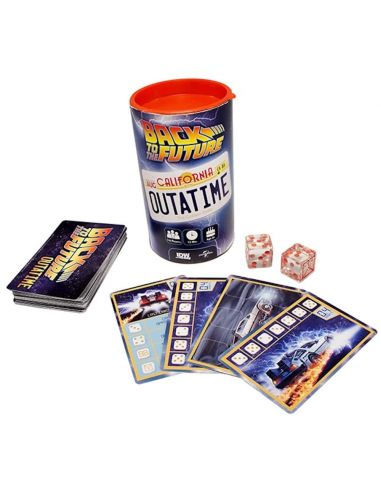 Back to the Future Outatime - Juego de Dados