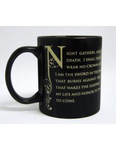 Taza Juramento de la Guardia de la Noche - Juego de Tronos