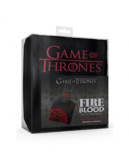 Delantal casa Targaryen - Juego de Tronos