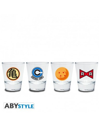 Pack Vasos chupitos Dragon Ball - Dragon Ball