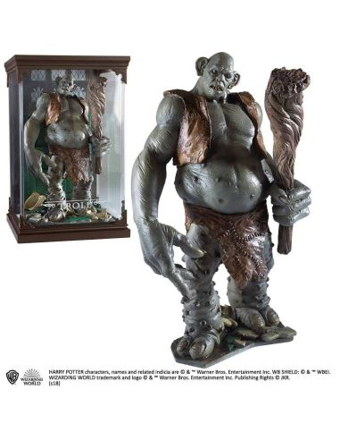 Figura Troll Criaturas Mágicas - Harry Potter