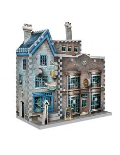 Puzzle 3D Tienda Ollivander's y Scribbulus - Harry Potter