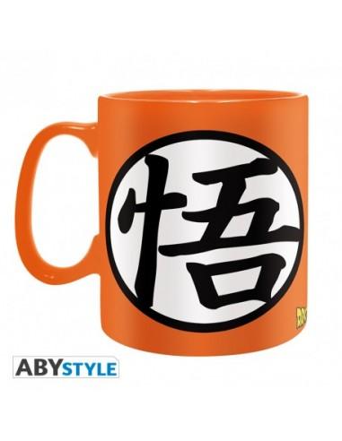 Taza símbolos Kame y Go - Dragon Ball