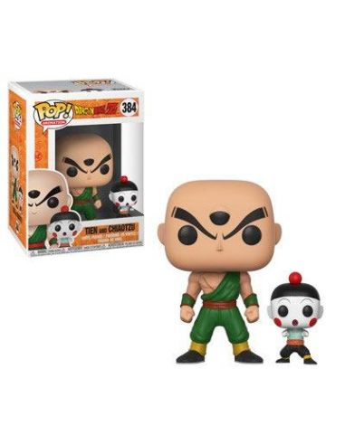 FUNKO POP! Tien Shinhan & Chiaotzu 384 - Dragon Ball