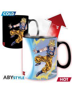 Taza térmica Goku contra Buu - Dragon Ball
