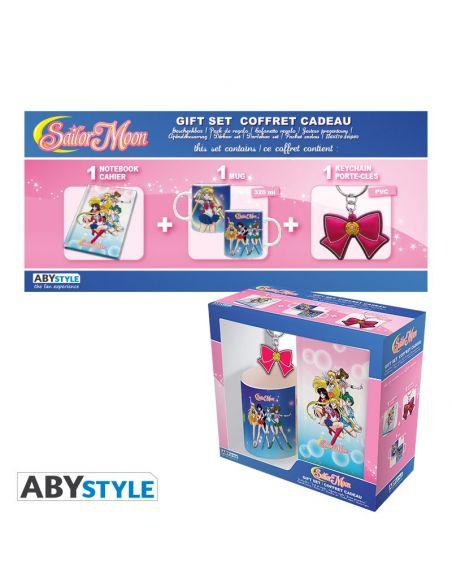 Pack Taza + Llavero + Libreta Sailor Moon
