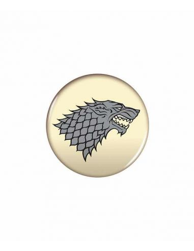 Chapa escudo Stark - Juego de Tronos