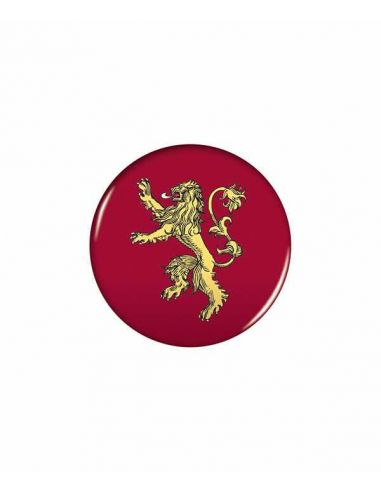 Chapa escudo Lannister - Juego de Tronos