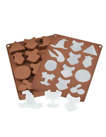 Molde de chocolates / Cubitos - Harry Potter