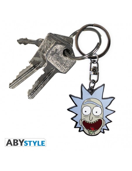 Llavero metálico Rick - Rick and Morty