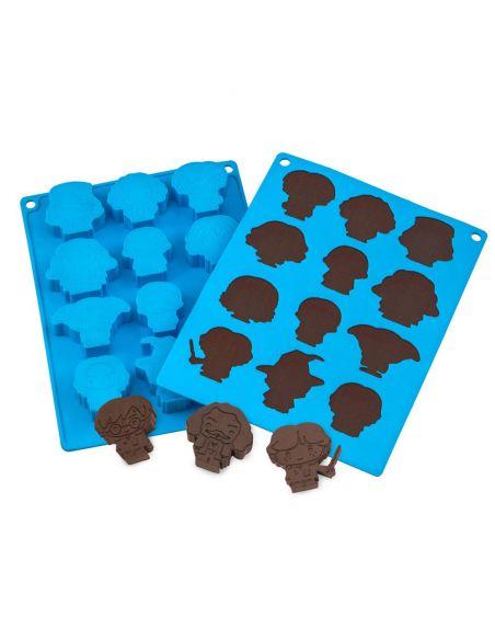 Molde de chocolates / Cubitos Kawaii - Harry Potter